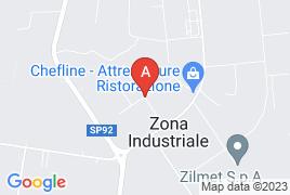 nelle immediate vicinanze della S.P. n. 104 Monselice-Mare , all'interno della Zona industriale-artigianale in via Sesta Strada, snc