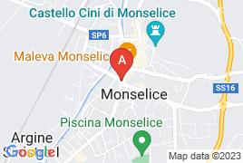 Via tra la S.P. n. 104 Monselice-Mare e la pubblica via Unità d'Italia, in corrispondenza della doppia rotatoria, snc