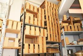 450 PEZZI CIRCA DI TELAI per fisarmoniche