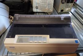 Stampante ad aghi marca epson mod. LX-300+II