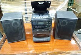 Mini stereo con 2 casse Starlite