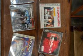 Lotto costituito da n° 80 cd musicali e n° 72 fumetti
