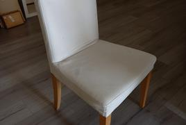 N° 33 Sedie in legno e tessuto Beige