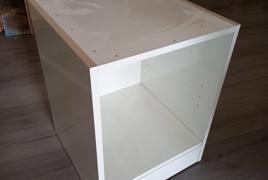 Lotto costituito da n° 28 Moduli in legno Bianco