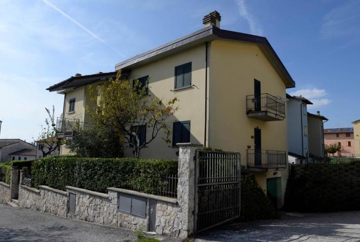 Bildausschnitt Via della Pennacchia, Sigillo (PG)
